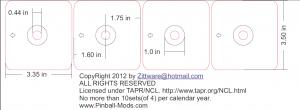 TAPR/NCL Leg Leveler Plates