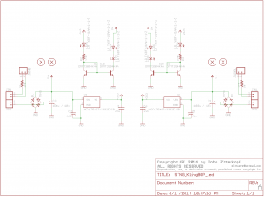 STNG KBOP LED schematic