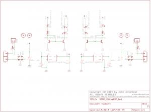 STNG KBOP LED schematic